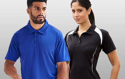 Sports Polo Shirts & Shirts