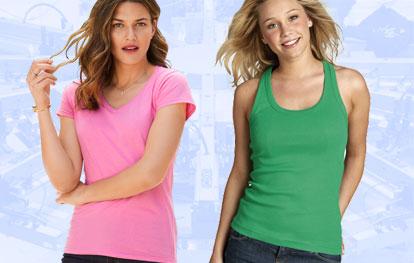 Ladies' T-Shirts & Vests