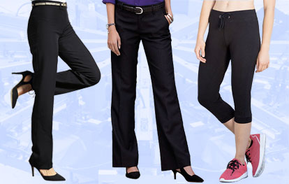 Ladies' Trousers & Shorts